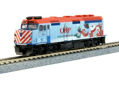 Kato 106-0036 N Scale 2016 Operation North Pole Christmas Train Starter Set