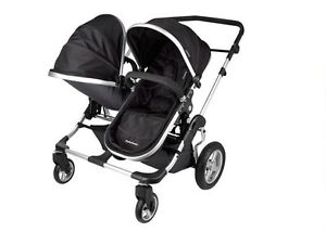 First Wheels City Twin Double Stroller *New never used*