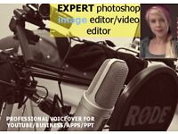 professional voiceover artist for apps/powerpoint/video/presentations AVAILABLE 👍😃 AWESOME AUDIO