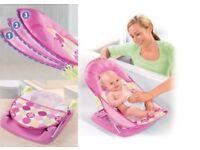 Summer deluxe baby bather recline seat