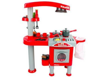 Kids Pretend Toy Kitchen Cooking Role Play Toy Full Package Holroyd Parramatta Area Preview