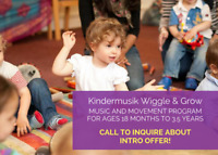 Toddlers Music and Movement Program