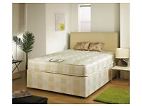 BRAND NEW DIVAN BEDS MATTRESS AND BASE SINGLE DOUBLE FREE DELIVERY