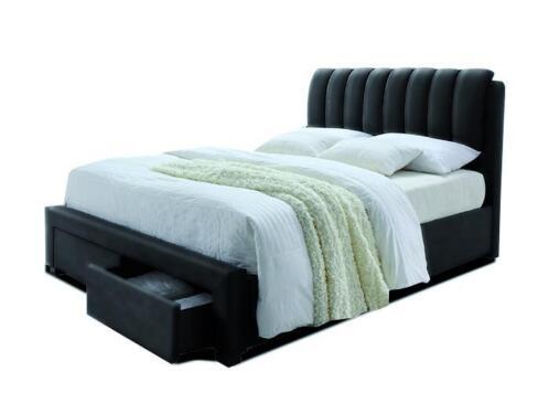 ≥ twijfelaarbed bedoni zwart 140x200 twijfelaar bed slaapkamer