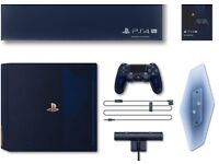 PS4 PlayStation 4 Pro 500 Million Limited Edition Console 2TB