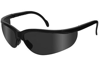 Safety Glasses Radians Journey Smoke Ansi Uv Protection Jr0121id