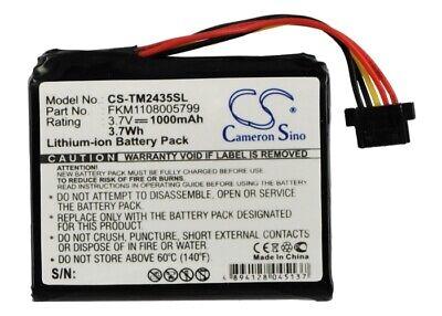 Replacement Battery For 4CQ01 3.7v 1000mAh GPS, Navigator Battery