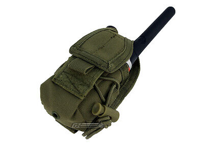 Handheld Radio Pouch - Condor Outdoor MOLLE Handheld Radio Pouch (OD) 6376