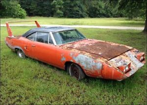 Plymouth superbird or dodge Daytona any condition cash buyer