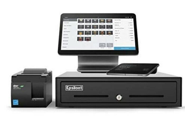 SQUARE POS SYSTEM Opened NEW Accepts all payment types Has ALL ACCESSORIES