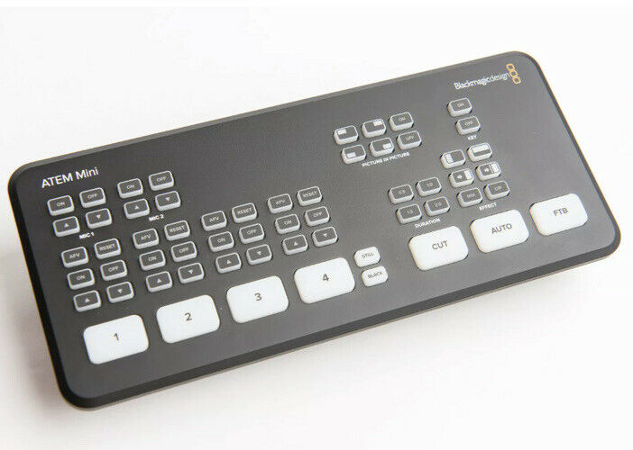 Blackmagic Design ATEM Mini - HDMI Live Stream Switcher Open Box
