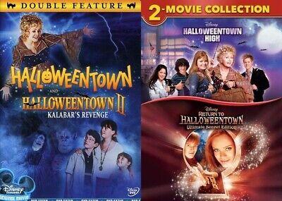 Halloweentown Blu Ray (Halloweentown 1 2 3 4 DVD Complete Collection Disney 4 Movie NEW DVD BUNDLE)