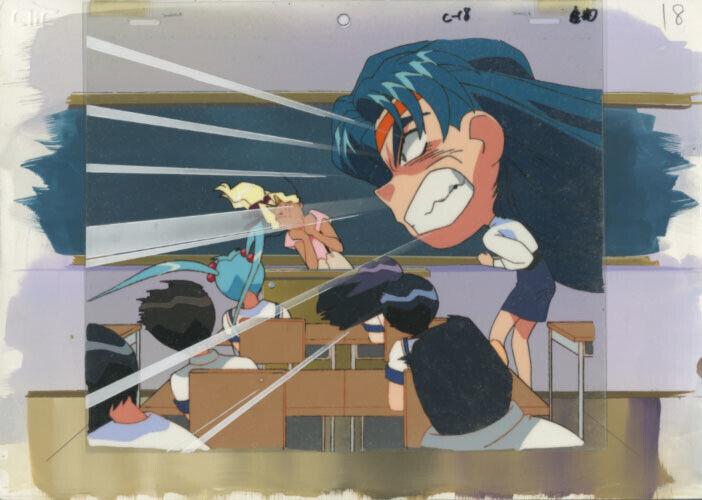 Anime Cel Tenchi #381