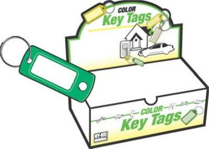 HY-KO PROD CO #KB138-200 200PK ID Key Tag/Ring by Hy-Ko Prod Co