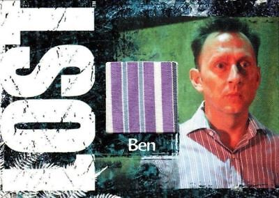 Lost Archives Michael Emerson as Benjamin Linus Relic Costume Card #318/375