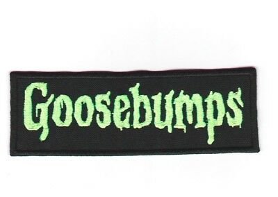 Goosebumps embroidered patch horror ghost kids books stories astral threads](Ghost Kid)
