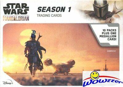 2020 Topps Star Wars The MANDALORIAN Season 1 EXCLUSIVE Blaster Box-MEDALLION