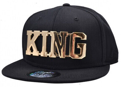 NEW KING SNAPBACK CAP BASEBALL HIP HOP ERA FITTED FLAT LEATHER PEAK HAT