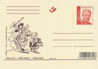 Johan et Pirlouit - carte postale - 2004 - Peyo