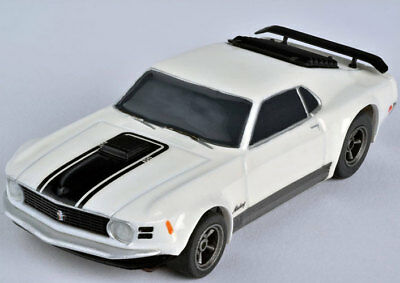 AFX 22000 Ford Mustang Mach 1 Mega G+ HO Scale Slot Car Auto World AFX22000
