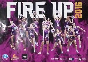 Queensland Firebirds (2016 Champions) netball poster Toowong Brisbane North West Preview