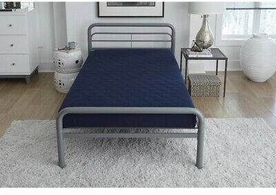 mattress twin quilted fitted pad white hotel