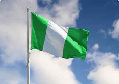 GIANT FLAG OF NIGERIA NIGERIAN FLAG