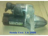 Honda Civic 1.6 Starter Motor (2000)
