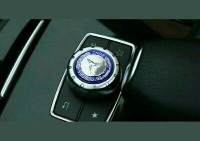 Emblem Mercedes Logo Controller Mittelkonsole lenkrad Aufkleber 29 mm
