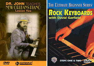 Keyboard and Piano Instructional DVD's Lessons
