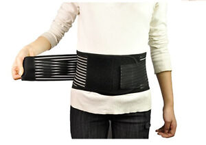 New~Waist Lower Back Support Belt Breathable Brace~Double Pull Pain Relief~HS01A