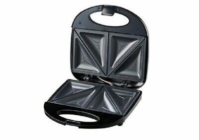Sandwichera 750W antideslizante con placas interiores antiadherentes 2 raciones