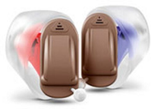 Siemens Signia Silk Primax 2px Instant Fit Cic Hearing Aids