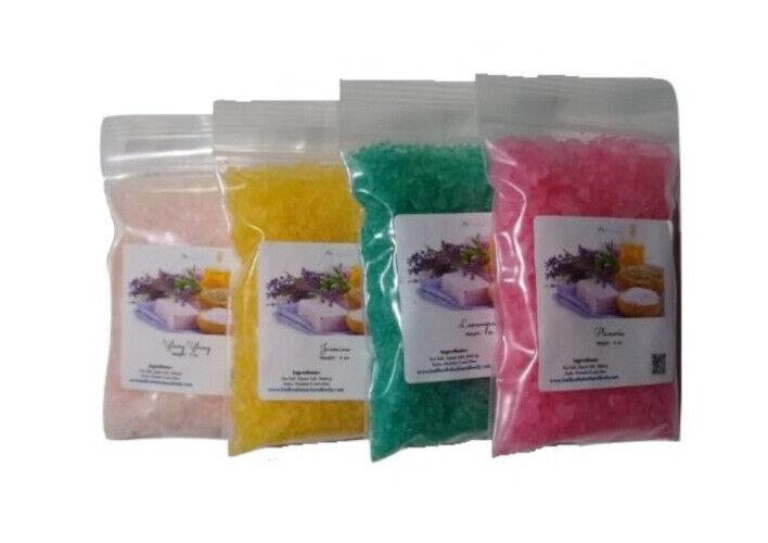 bath salts sampler pack aromatherapy scents sea