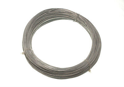 QTYOF 10 ROLLS GALVANISED WIRE GARDEN / FENCING 1.0 MM X 80M