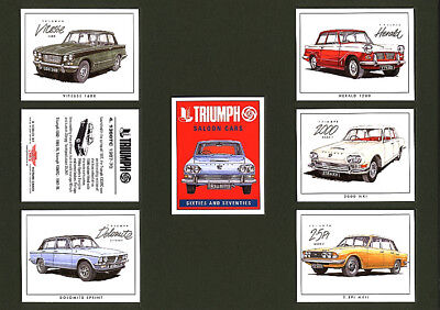 Triumph Saloon Cars of the Sixties and Seventies - Collectors Cards