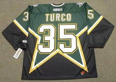 MARTY TURCO Dallas Stars 2003 CCM Throwback Away NHL Hockey Jersey