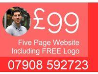 Web Design & Development - Freelance Website Design Only £99 Mobile Friendly Websites