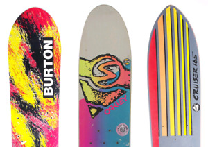 Looking for vintage snowboards