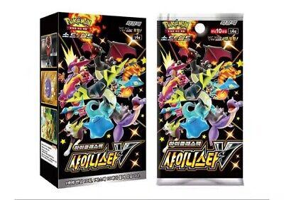 [Pokemon] NEW Card Game Sword&Shield High Class Pack Shiny Star V BOX KOREA