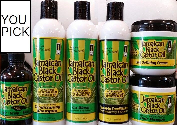 jamaican black castor oil hair care products