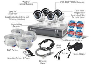 SWAN PRO-SERIES HD SECURITY SYSTEM