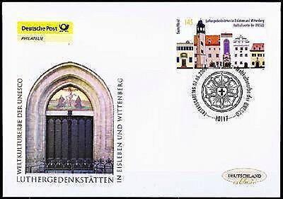 BRD 2009: Luthergedenkstätten! Post-FDC Nr. 2736 mit Berliner Stempel! 1A! 1802