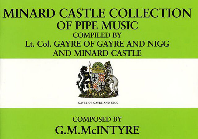 Minard Castle Collection Of Pipe Bagpipe Bagpipes Songs Tunes Music Book