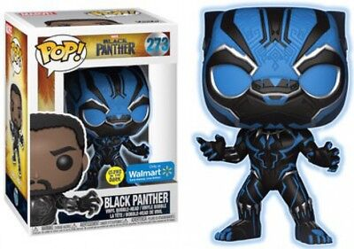 Funko Marvel Black Panther Glow in Dark  Pop Vinyl Figure