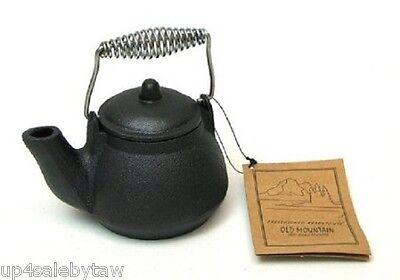Old Mountain Cast Iron Tea Kettle Wood Stove Humidifier