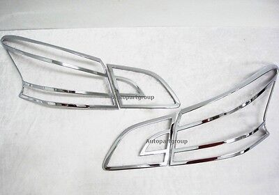 Fit For Nissan Nissan SylphySentra 12 15 Chrome Tail Light Cover Trim