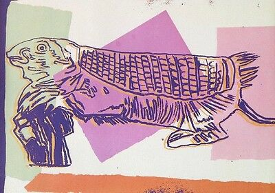 Andy Warhol POP ART .. MOUSE ARMADILLO Endangered   1986 Archival Presentation