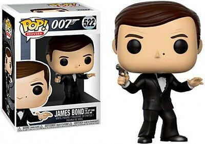 Funko Pop Movies: James Bond-Roger Moore Collectible Figure