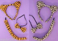 6 X Tiger/leopardo Animal Orejas Y Cola/juegos De Vestir : Al Por Mayor : Sp -  - ebay.es